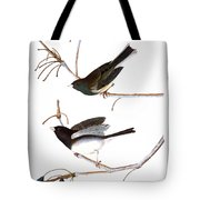 Audubon: Junco, (1827) Tote Bag