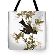Audubon: Pewee, 1827-38 Tote Bag