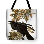Audubon: Raven Tote Bag by Granger