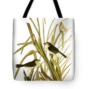 Audubon: Sparrow, (1827) Tote Bag