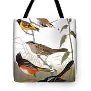 Audubon: Various Birds Tote Bag