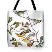 Audubon: Warbler, (1827-1838) Tote Bag