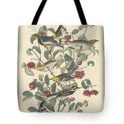 Audubon's Warbler Tote Bag