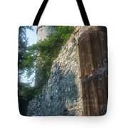 Auerbach Tower And Gate Tote Bag