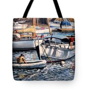 August Afternoon Rocky Neck Tote Bag