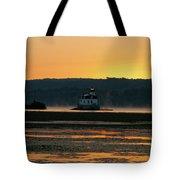 August Dawn At Esopus Light II Tote Bag