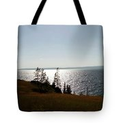 August Evening At Yellowstone Lake Tote Bag