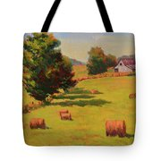 August Hay Field Tote Bag