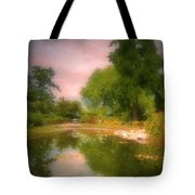 August In The Gardens Tote Bag
