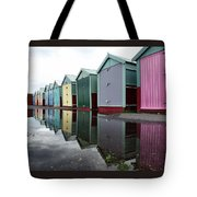 August Rains On The Promenade Tote Bag