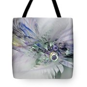 August Silk - Fractal Art Tote Bag