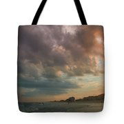 August Skies Over Ocean Isle Beach Tote Bag