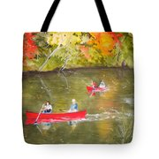 Augusta Canal Number One Tote Bag