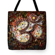 Aum - Cosmic Vibrations  Tote Bag