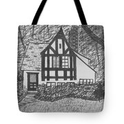 Aunt Vizy's House Tote Bag