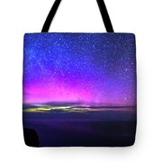 Aurora At Ceide Fields Tote Bag