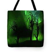 Aurora Borealis Lights - Painting Tote Bag