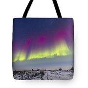 Aurora Borealis Seen From Churchill Tote Bag