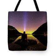 Aurora Chasing Tote Bag