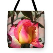 Aurora Color Rose Bud. Wow Tote Bag