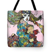 Aurora Of The Borealis  Tote Bag