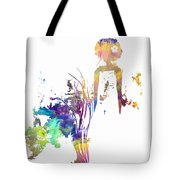 Aurora Yellow Tote Bag