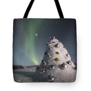 Auroral Christmas Tree Tote Bag