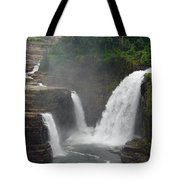 Ausable Chasm Waterfalls Tote Bag
