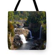 Ausable Falls Tote Bag