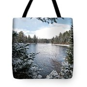Ausable River 4820 Tote Bag