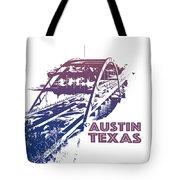 Austin 360 Bridge, Texas Tote Bag