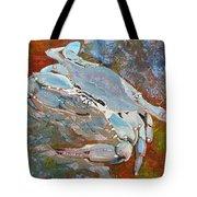 Austin Blue Crab Tote Bag