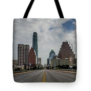 Austin From Congress Street Bridge Tote Bag