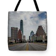 Austin From Congress Street Bridge Tote Bag