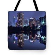 Austin In Lady Bird Lake Tote Bag