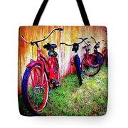 Austin Texas Bikes  -- Original Painting Tote Bag