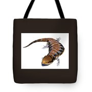 Australia Blue-tongued Skink Tote Bag
