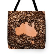 Australia Cafe Artwork Tote Bag
