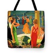 Australia, Romantic Night, Dance And Music, Hotel Terrace Tote Bag