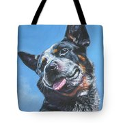 Australian Cattle Dog 2 Tote Bag by Lee Ann Shepard