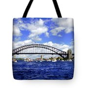 Australian Day Is A Party Day On Sydney Harbour  Tote Bag