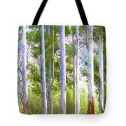 Australian Gum Trees Tote Bag