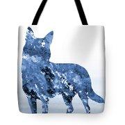 Australian Kelpie-blue Tote Bag