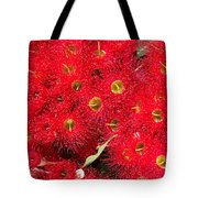 Australian Native Eucalyptus Flowers Tote Bag