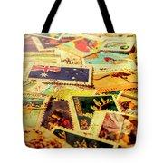 Australian Postal Background Tote Bag