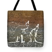 Australian Red Kangaroos Tote Bag