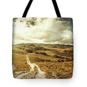 Australian Rural Panoramic Landscape Tote Bag