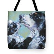Australian Shepherd Mom And Pup Tote Bag