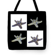 Australian Starfish Composite Design Tote Bag