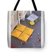 Austrian Street Scene Tote Bag